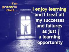 Positive Affirmations Enjoy Learning