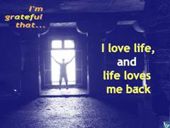 Positive Affirmations Love Life