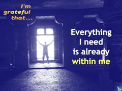 Positive Affirmations: I Have Everything I need To Succeed