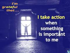 Positive Affirmations: Taking Action