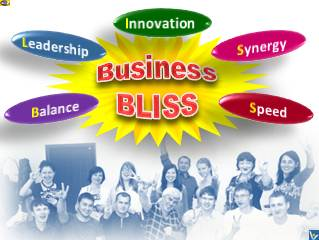Business BLISS - Balance, Leadership,Innovation, Synergy, Speed