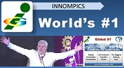 Innompic Games as World's #1 in its target areas