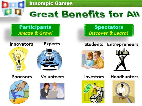 Innompics Benefits for Participants and Spectators