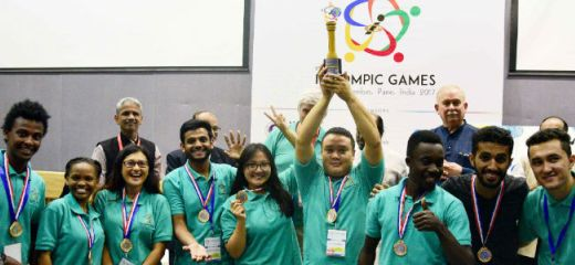 World's Best Innovators 1st Innompic Games 2017 award winners