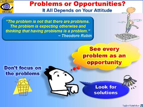 See Problems as Opportunities