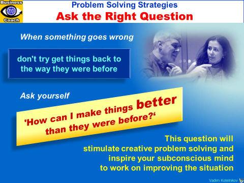 PROBLEM SOLVING SIMPLE TECHNIQUES - Instant Enlightenment