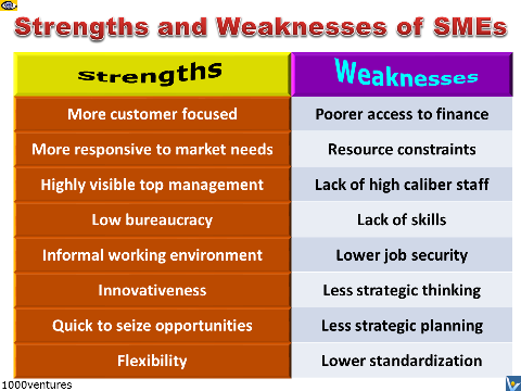 strength and weaknesses of an entrepreneur Discussing your strengths and weaknesses can be one of the most difficult parts of the interview avoid interview paralysis with our advice  assessing your strengths assess your skills, and you will identify your strengths this is an exercise worth doing before any interview make a list of your skills, dividing them into three categories.