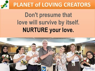 Nurture your love Vadim Kotelnikov quotes Innompic Games Planet of Loving Creators
