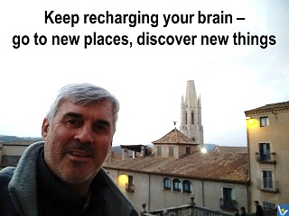 Vadim Kotelnikov travel quote Keep rechargning your brain - go to new places, discover new things
