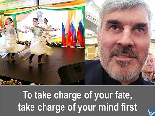 Fate quote If you want to take chanrge of your fate, take charge of your mind first Vadim Kotelnikov