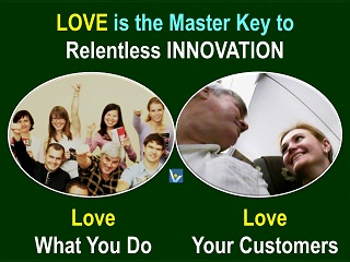 Great Innovation quotes - INNOVATION IS LOVE, Vadim Kotelnikov