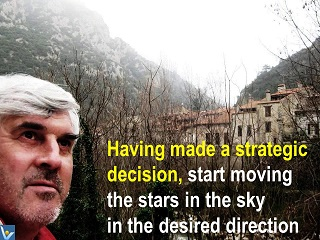 Vadim Kotelnikov humorous quotes, strategy implementation, move the stars in the desired direction