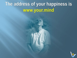 Vadim Kotelnikov happiness quotes: The address of your happiness is www.your.mind