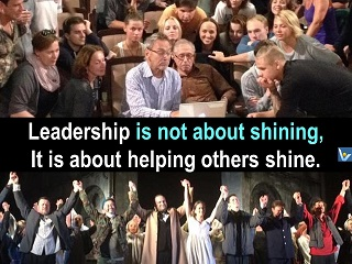 What is Leadership - heliping others shine, Vadim Kotenikov