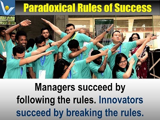 Best Innovation quotes Innovators succeed by breaking rules Vadim Kotelnikov #innovation #breakrules