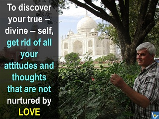 Self-discovery quotes, How to discover your true self, god love life mission, Vadim Kotelnikov