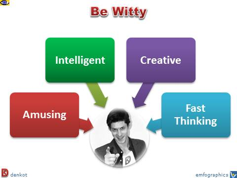 witty how to be witty definition tips amusing clever charismatic